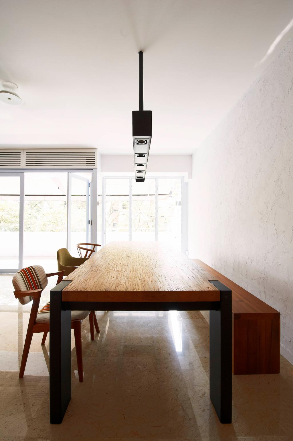 Contemporary, Condo, Dining Room, Hillcrest Arcadia, Interior Designer, Seven Heaven, Dining Table, Furniture, Table, Indoors, Interior Design, Room, Bench