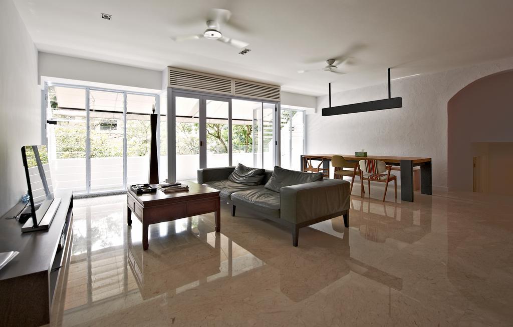 Contemporary, Condo, Living Room, Hillcrest Arcadia, Interior Designer, Seven Heaven, Dining Table, Furniture, Table, Dining Room, Indoors, Interior Design, Room, Bench