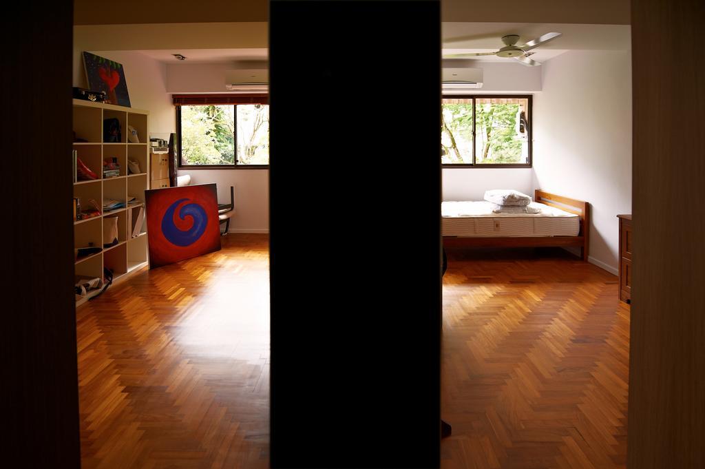 Contemporary, Condo, Bedroom, Hillcrest Arcadia, Interior Designer, Seven Heaven, Flora, Jar, Plant, Potted Plant, Pottery, Vase, Flooring