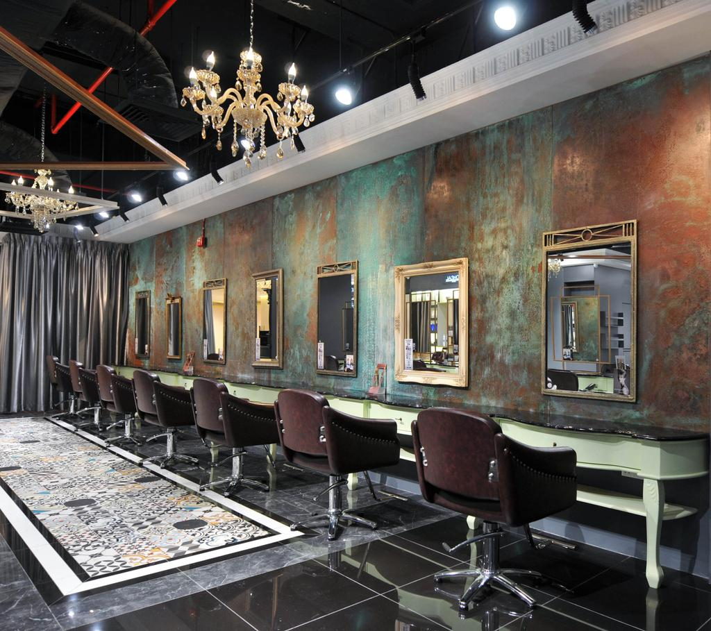 Salon Vim at Wisma Atria, Commercial, Interior Designer, Seven Heaven, Modern, Chair, Furniture, Conference Room, Indoors, Meeting Room, Room