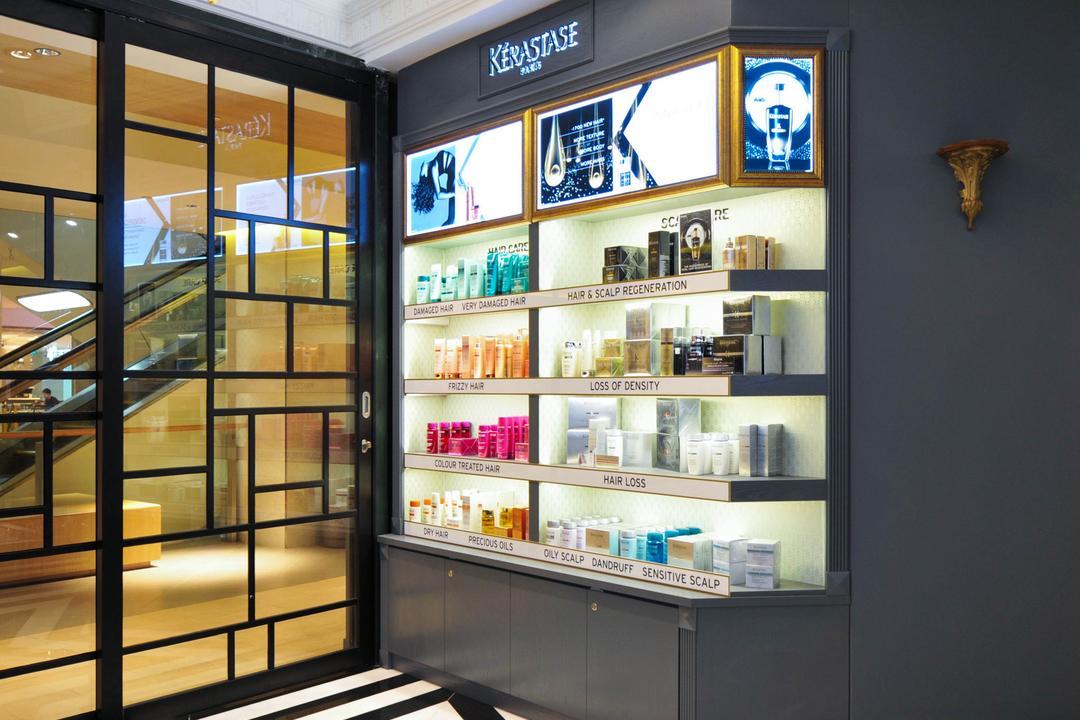 Salon Vim at Wisma Atria, Seven Heaven, Modern, Commercial, Door, Revolving Door