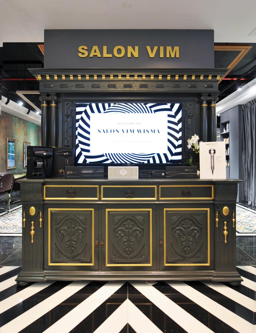 Salon Vim at Wisma Atria, Commercial, Interior Designer, Seven Heaven, Modern, Luggage, Suitcase