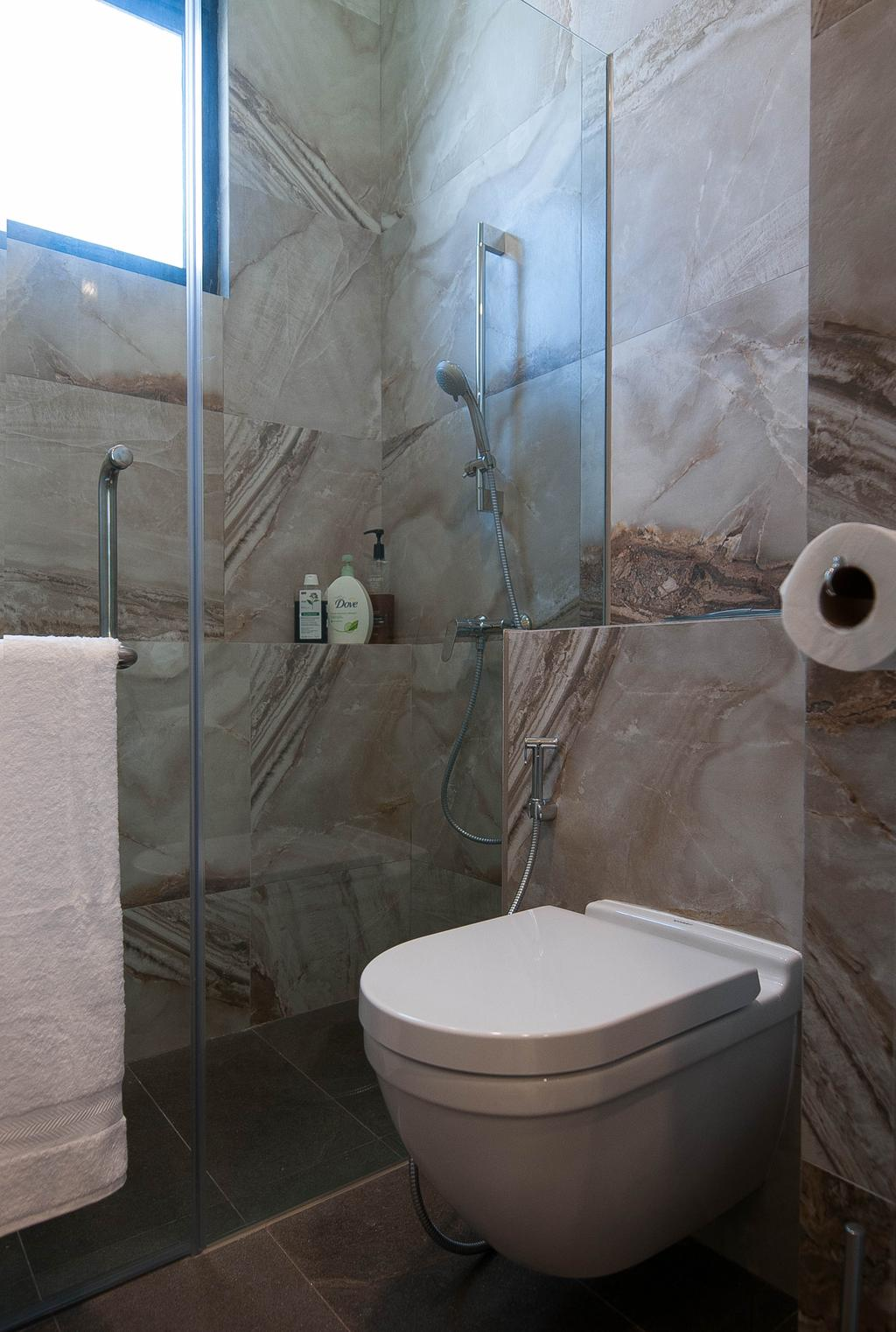 Modern, Condo, Bathroom, The Summit, Interior Designer, Seven Heaven