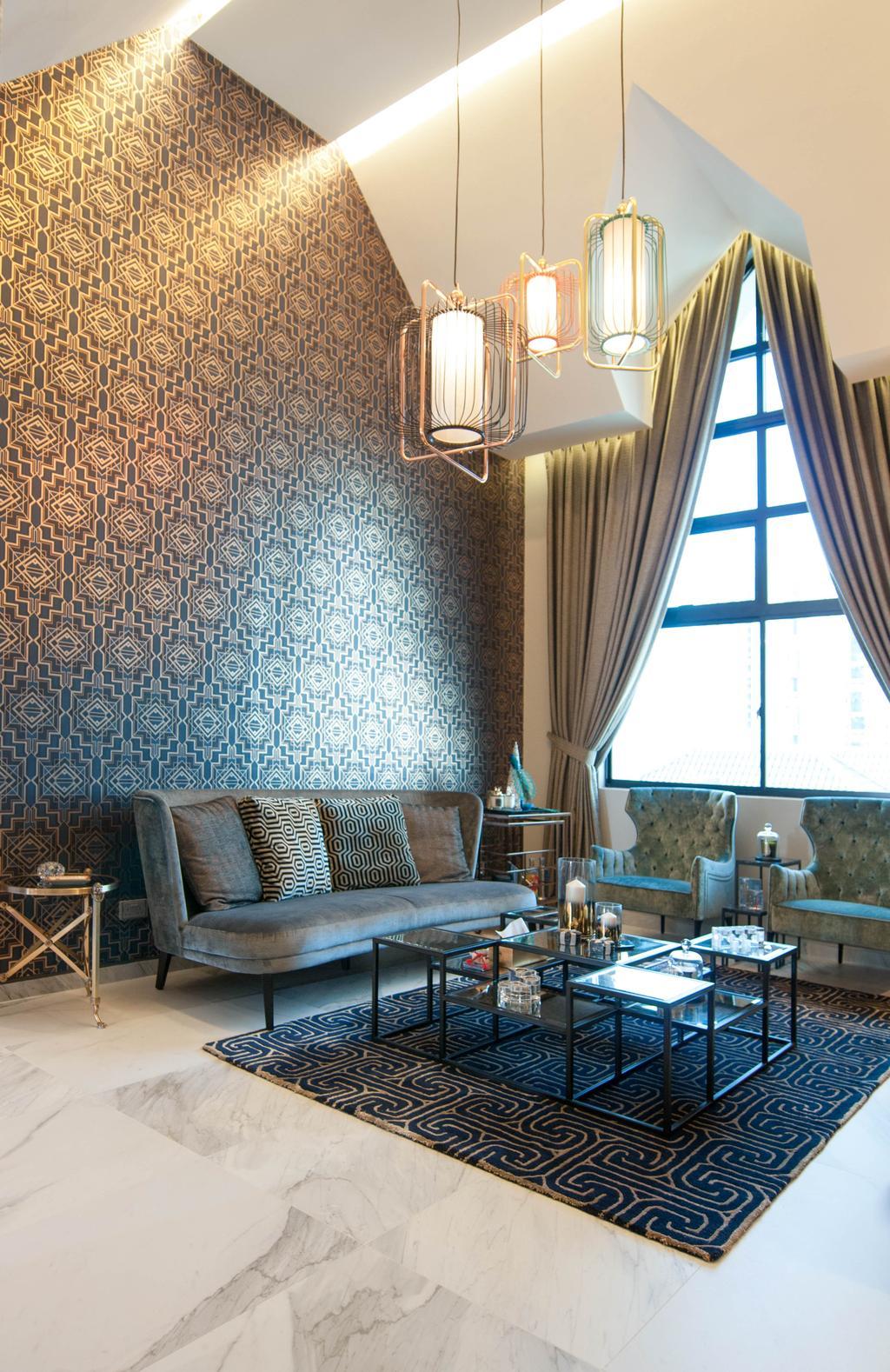 Modern, Condo, The Summit, Interior Designer, Seven Heaven, Couch, Furniture, Chair