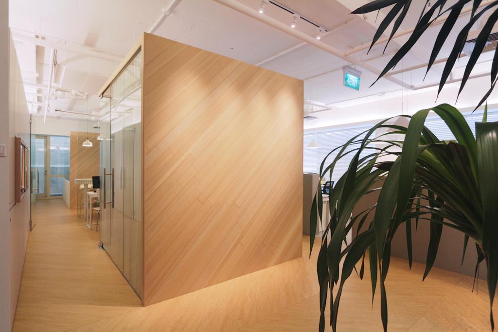 POLWEL Office, Commercial, Architect, EHKA Studio, Modern, Indoors, Interior Design, Flora, Plant, HDB, Building, Housing, Loft