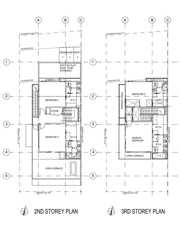 Modern, Landed, Island Garden Walk, Architect, AgFacadesign Architects, Floor Plan, Diagram, Plan