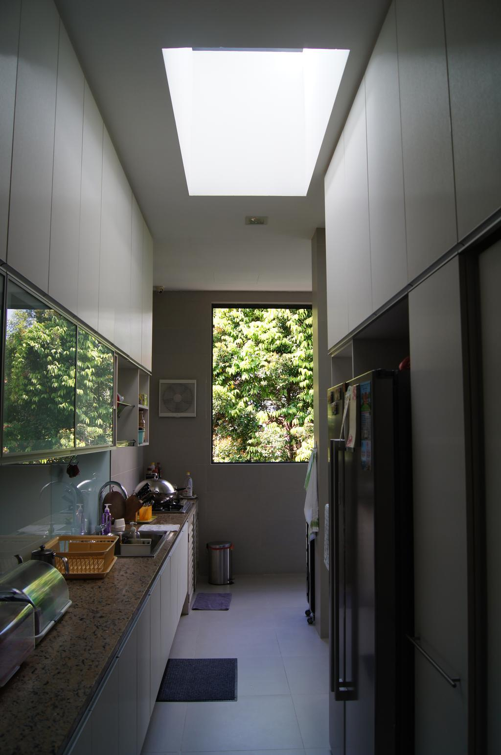 Modern, Landed, Kitchen, Island Garden Walk, Architect, AgFacadesign Architects, Human, People, Person, HDB, Building, Housing, Indoors, Bathroom, Interior Design, Room