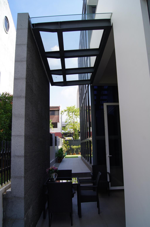 Modern, Landed, Balcony, Island Garden Walk, Architect, AgFacadesign Architects, Architecture, Building, Column, Pillar