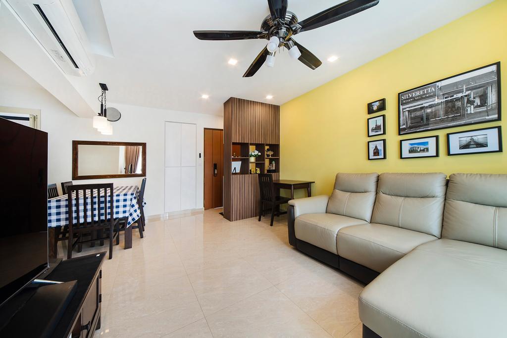 Modern, HDB, Living Room, Upper Serangoon Road, Interior Designer, Cozy Ideas Interior Design, Couch, Furniture, Chair