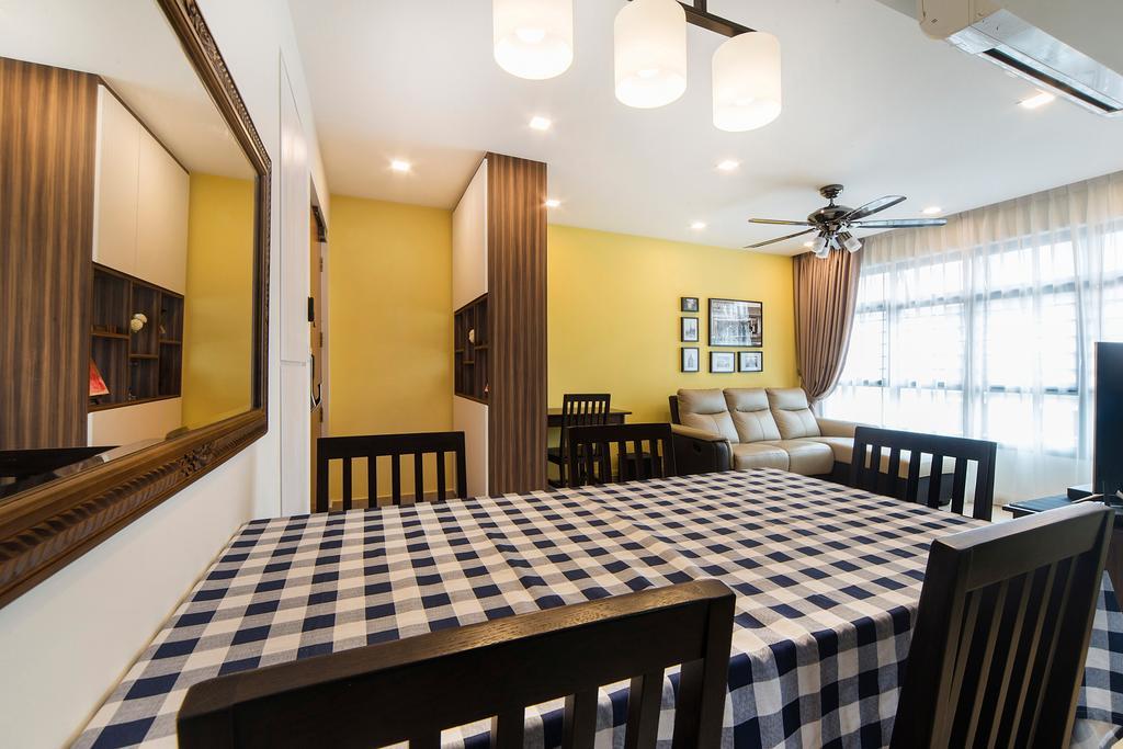 Modern, HDB, Dining Room, Upper Serangoon Road, Interior Designer, Cozy Ideas Interior Design, Conference Room, Indoors, Meeting Room, Room, Interior Design
