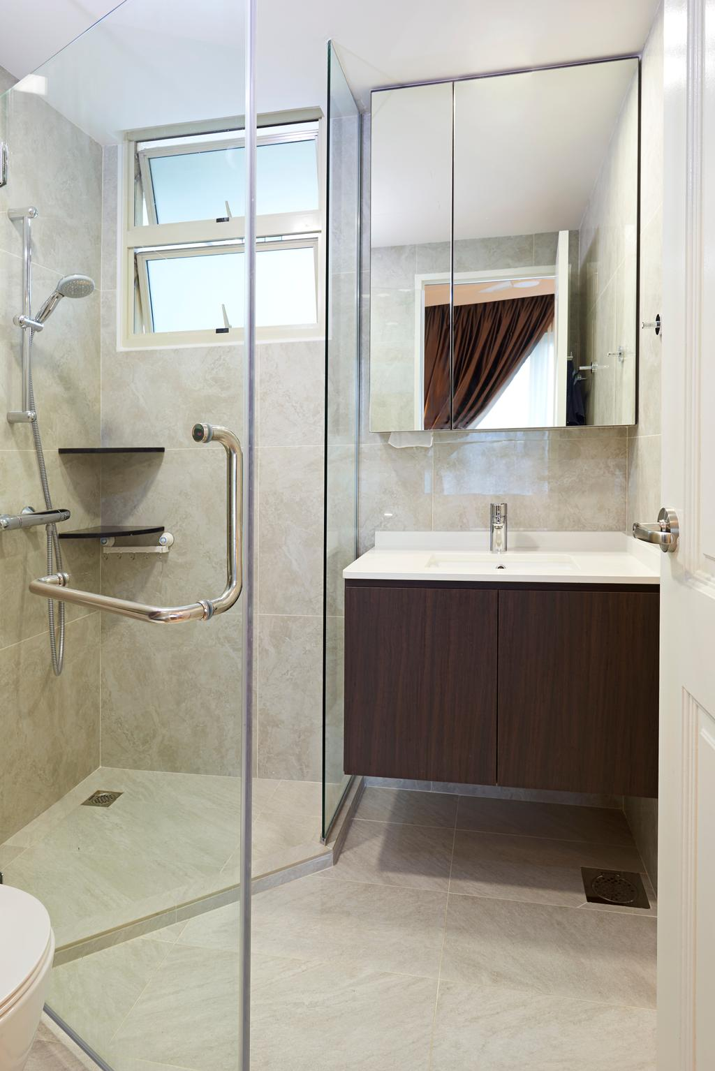 Modern, Condo, Bathroom, Trellis Tower, Interior Designer, Weiken.com, Indoors, Interior Design, Room