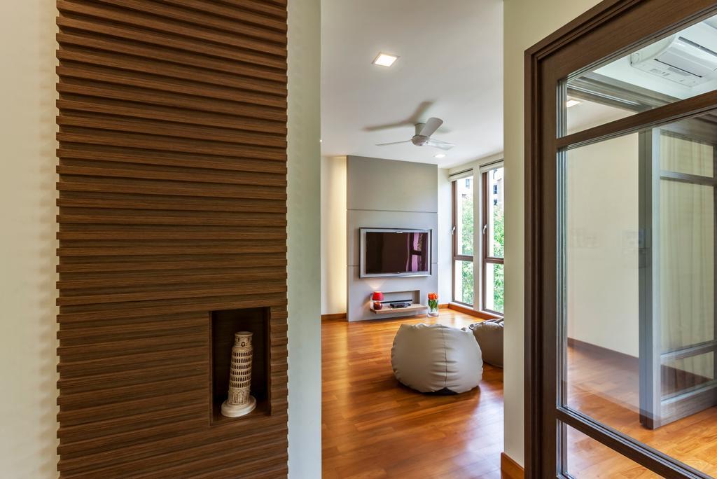 Contemporary, Landed, Living Room, Hillview Avenue, Interior Designer, Habitat One, Indoors, Interior Design