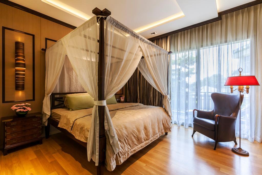 Traditional, Condo, Bedroom, River Valley, Interior Designer, Habitat One, Contemporary, Chair, Furniture, Bed, Indoors, Interior Design, Room