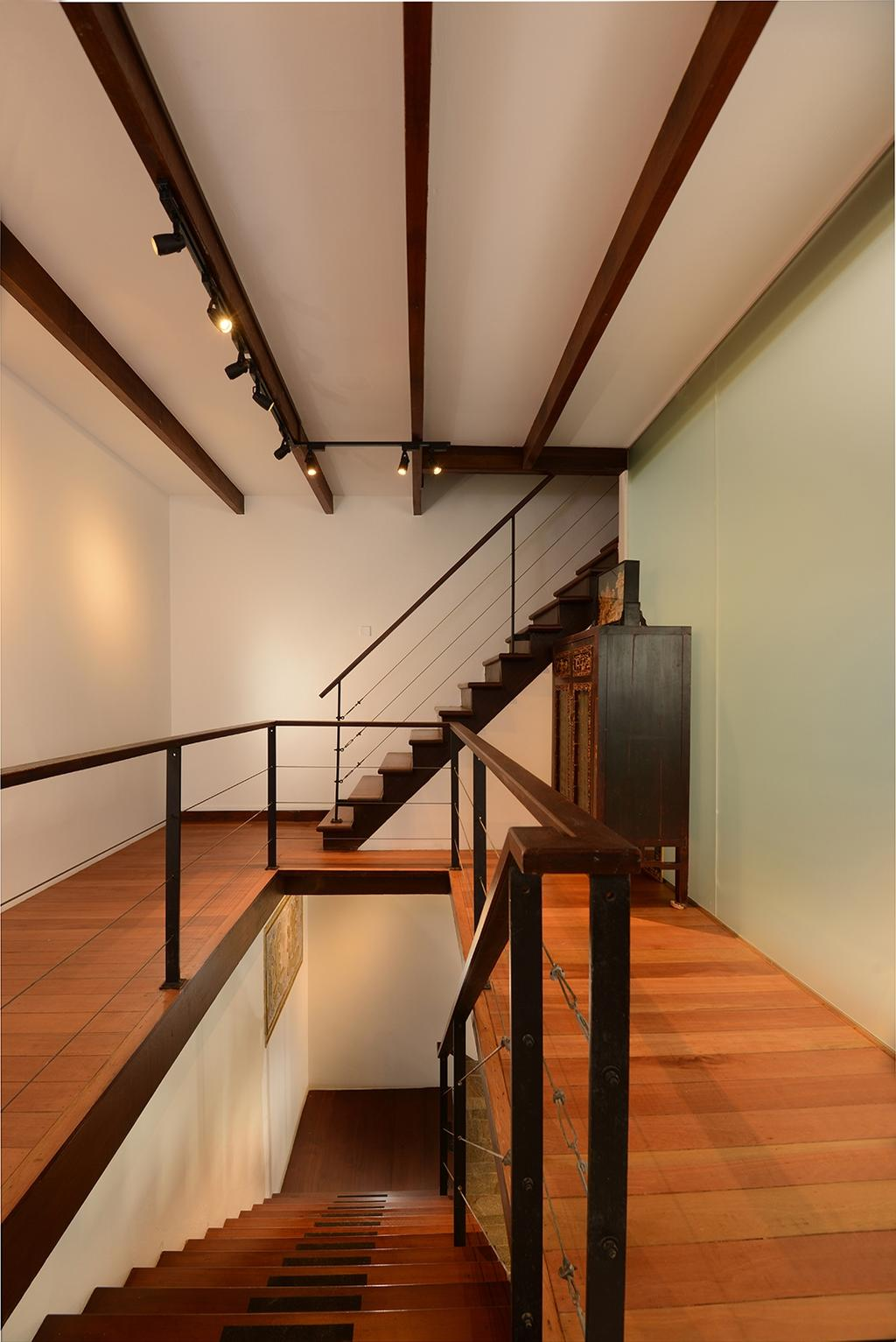 Contemporary, Landed, Living Room, Neil Road, Interior Designer, ISH Interior Design, Banister, Handrail, Staircase