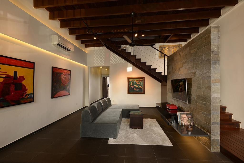 Contemporary, Landed, Living Room, Neil Road, Interior Designer, ISH Interior Design, Appliance, Electrical Device, Oven, Art, Art Gallery