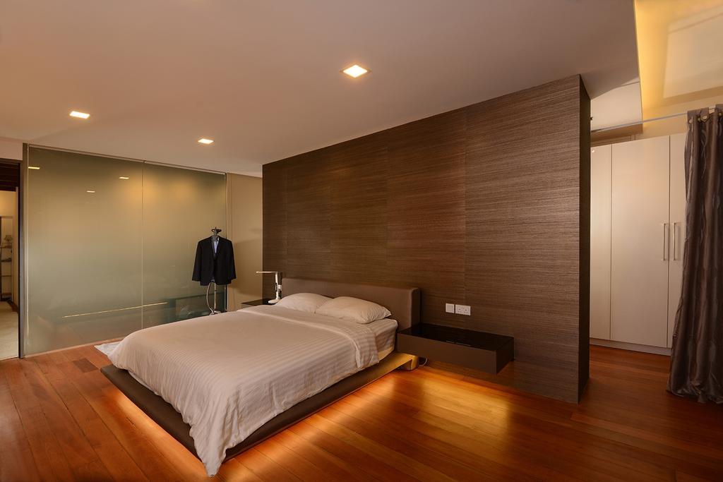 Contemporary, Landed, Bedroom, Neil Road, Interior Designer, ISH Interior Design, Flooring, Bed, Furniture