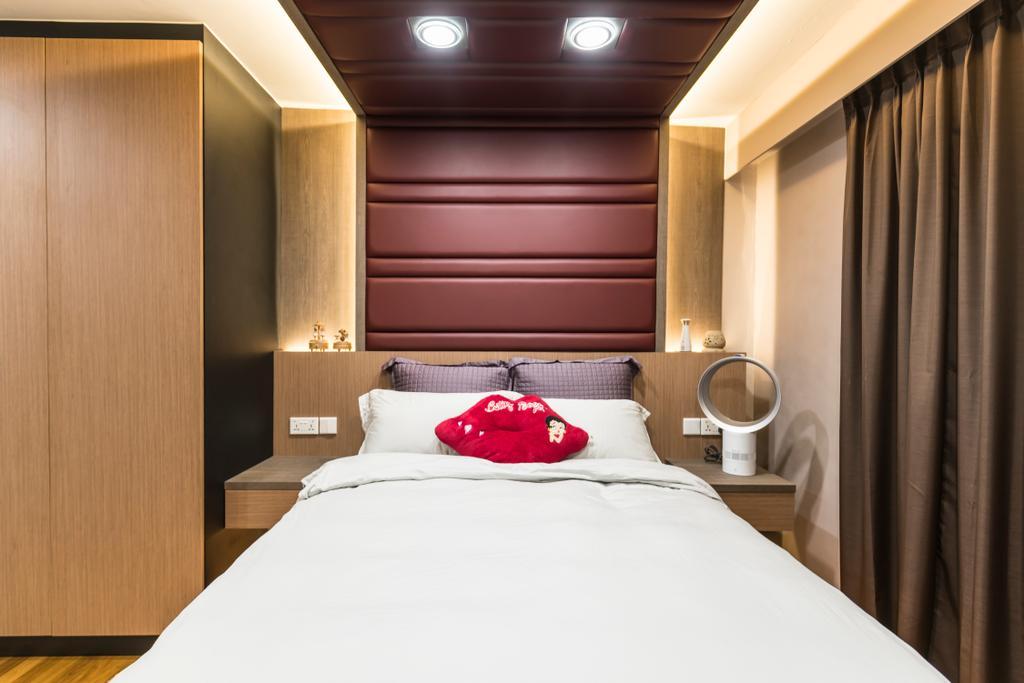 Modern, Condo, Bedroom, Sunflower Court, Interior Designer, Summit Design Studio, Indoors, Room, Interior Design