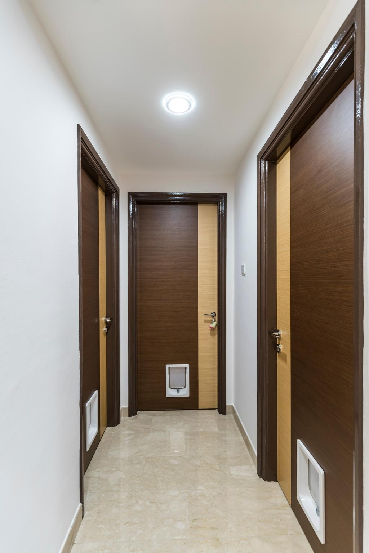 Modern, Condo, Living Room, Sunflower Court, Interior Designer, Summit Design Studio