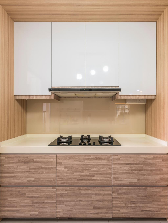 Modern, HDB, Kitchen, Yishun Avenue 1 (Block 428B), Interior Designer, Summit Design Studio, Indoors, Interior Design, Room, Wall