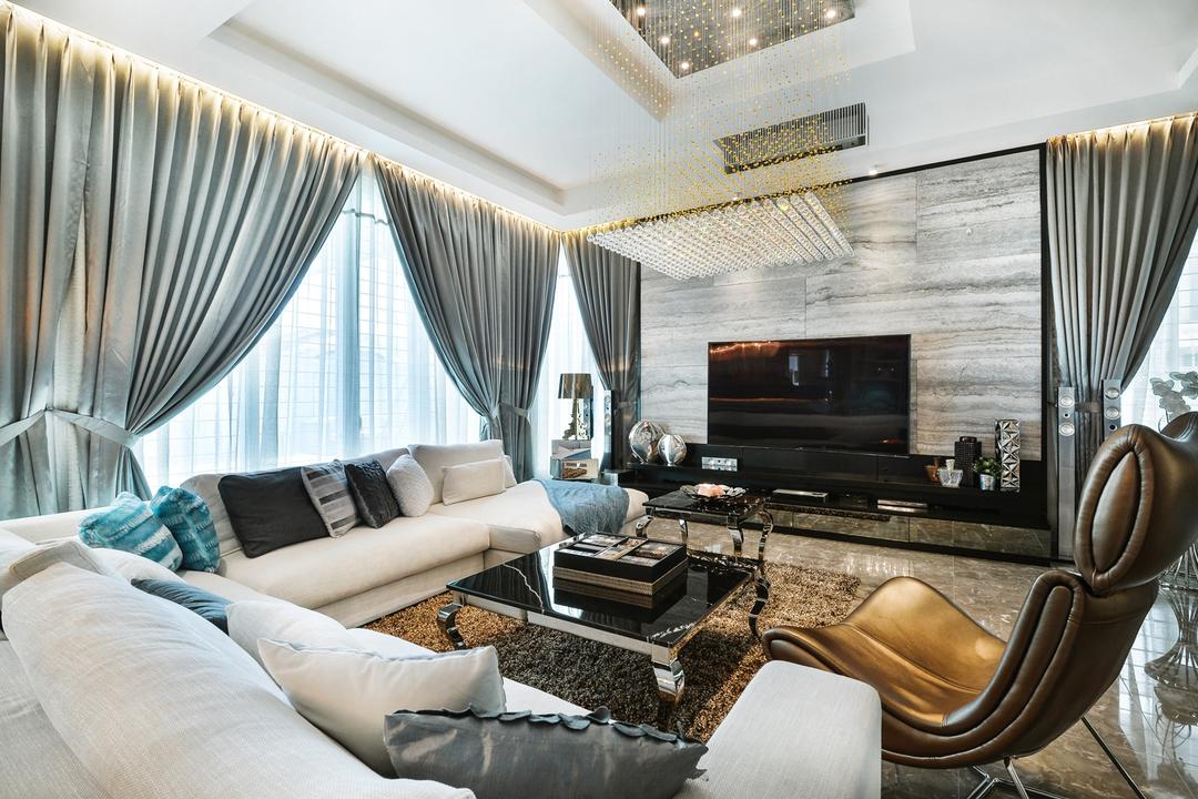 Cheras Idaman Living Room Interior Design 9