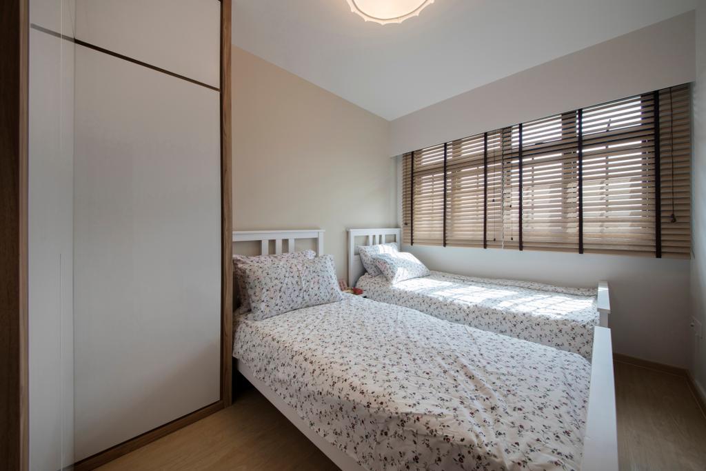 Scandinavian, HDB, Bedroom, Jurong West (Block 697A), Interior Designer, Corazon Interior, Indoors, Interior Design, Room