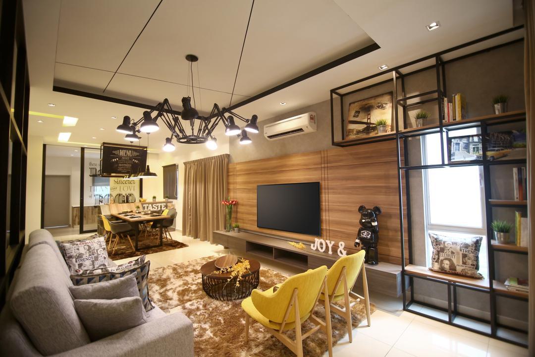 Samira Show Unit (Negeri Sembilan) Living Room Interior Design 11