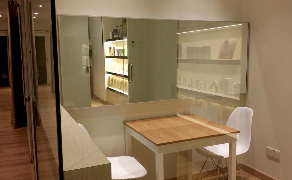 Age Management Beauty Salon, Bandar Menjalara, Commercial, Interior Designer, TOD Interior Design, Modern, Minimalistic, Sink, Chair, Furniture, Banister, Handrail, Staircase, Shelf