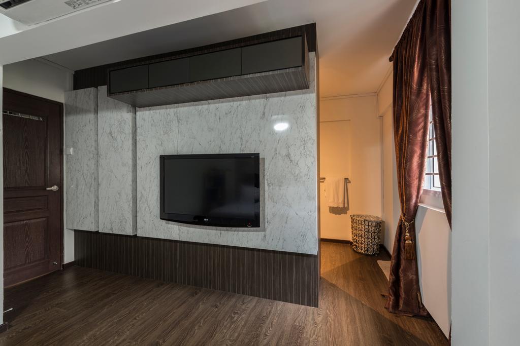 Vintage, HDB, Bedroom, Yishun Street 61 (Block 605), Interior Designer, Project Guru, Flooring