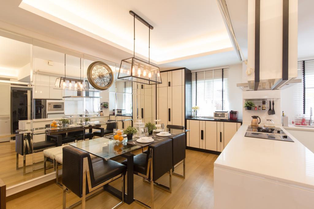 Contemporary, Landed, Dining Room, Kew Residences, Interior Designer, Designe Couture, Modern