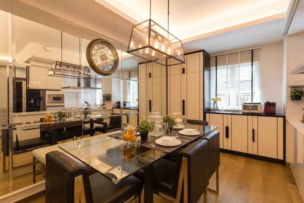 Contemporary, Landed, Dining Room, Kew Residences, Interior Designer, Designe Couture, Modern