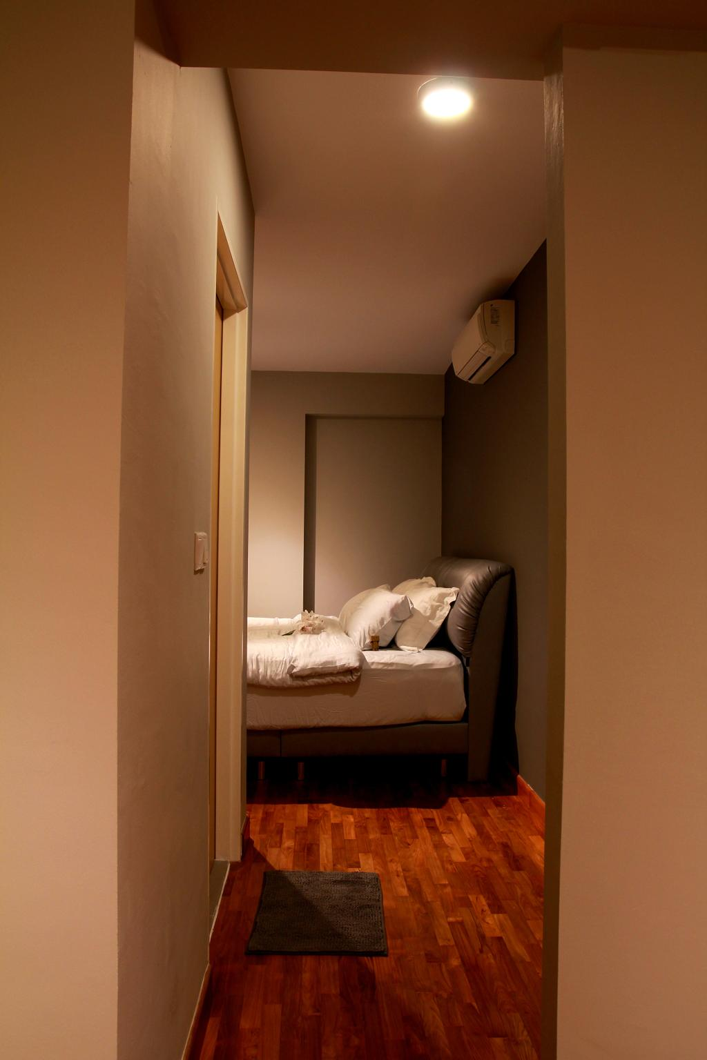Modern, HDB, Bedroom, Punggol Sapphire, Interior Designer, Mesh Room Design