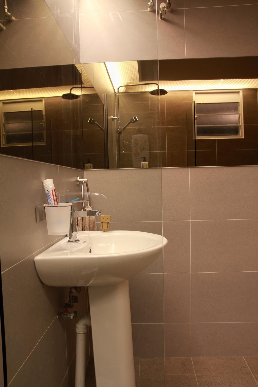 Modern, HDB, Bathroom, Punggol Sapphire, Interior Designer, VVID Elements, Appliance, Electrical Device, Oven, Indoors, Interior Design, Room