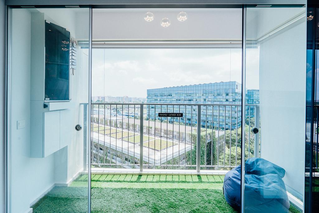 Modern, HDB, Balcony, Tampines Central 8 (Block 519C), Interior Designer, DL Abode Design Solutions
