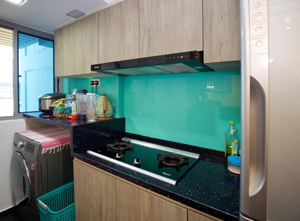 Modern, HDB, Kitchen, Tampines Central 8 (Block 519C), Interior Designer, DL Abode Design Solutions