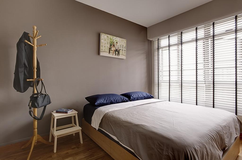 Scandinavian, HDB, Bedroom, Anchorvale, Interior Designer, Unity ID