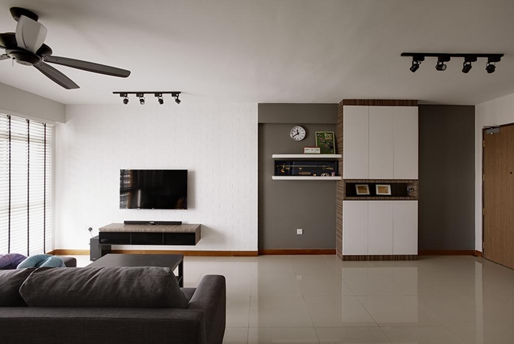 Scandinavian, HDB, Living Room, Anchorvale, Interior Designer, Unity ID