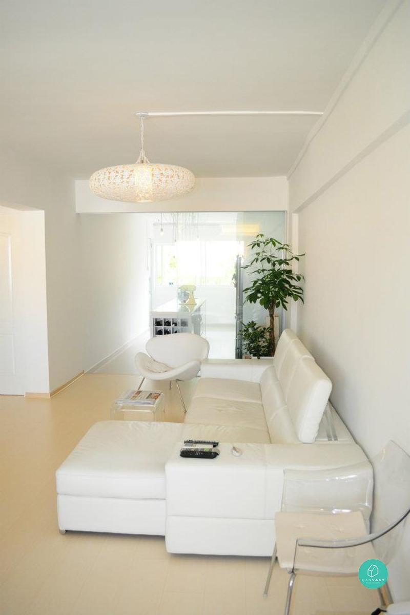7 Rules To Decorating An All-White Interior