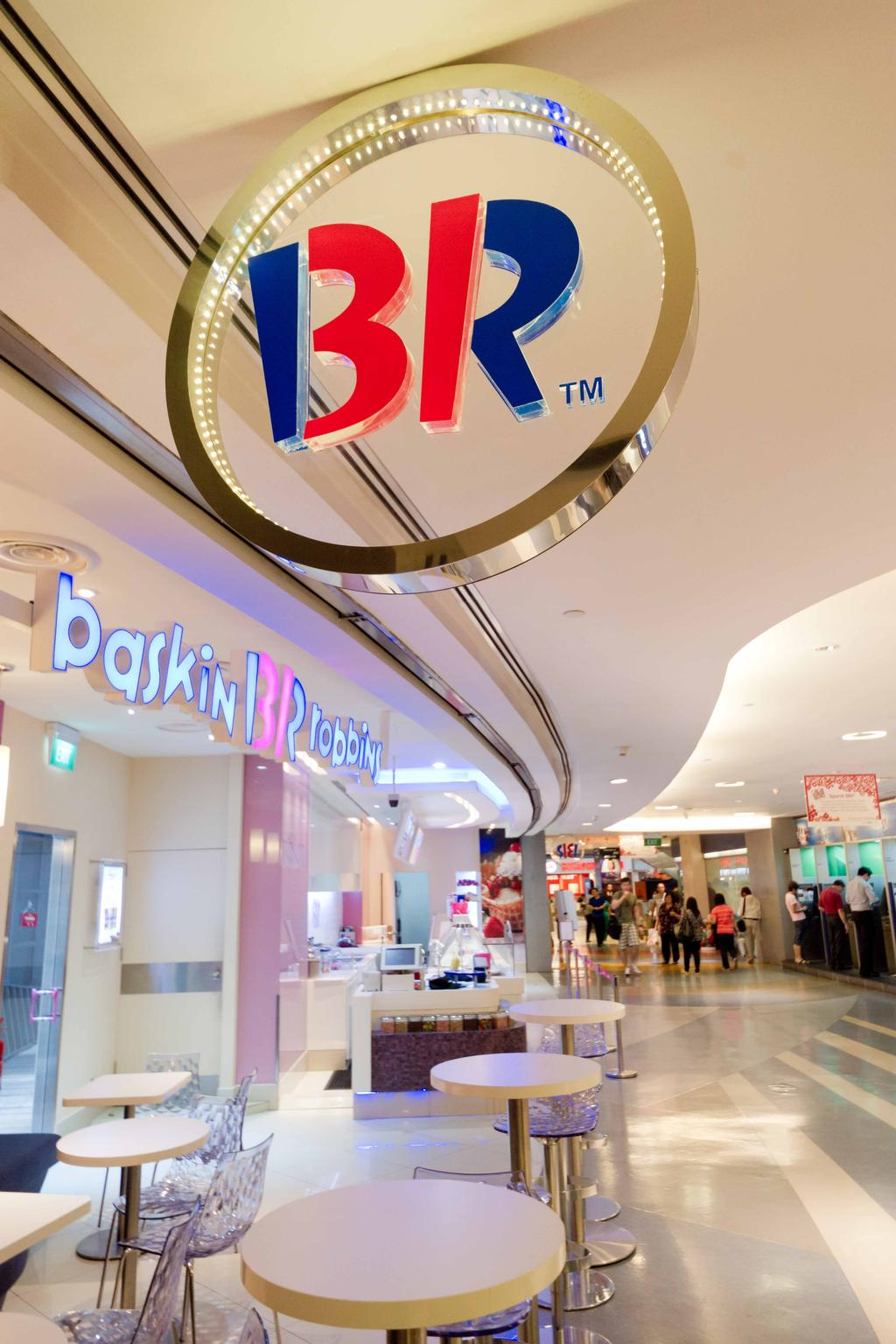 Baskin Robbins (Novena Square), Commercial, Interior Designer, Unity ID, Contemporary, Shop Entrance, Shop Exterior