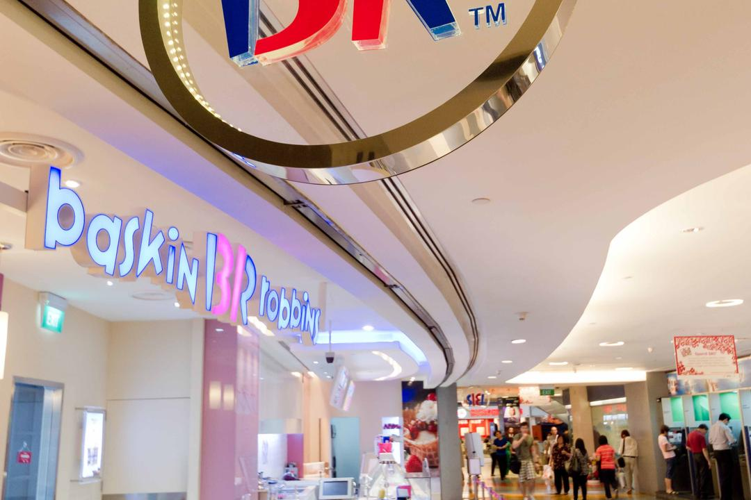 Baskin Robbins (Novena Square), Unity ID, Contemporary, Commercial, Shop Entrance, Shop Exterior
