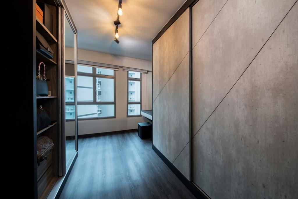 Modern, HDB, Bedroom, Punggol Road (Blk 315A), Interior Designer, Starry Homestead, Scandinavian, Corridor
