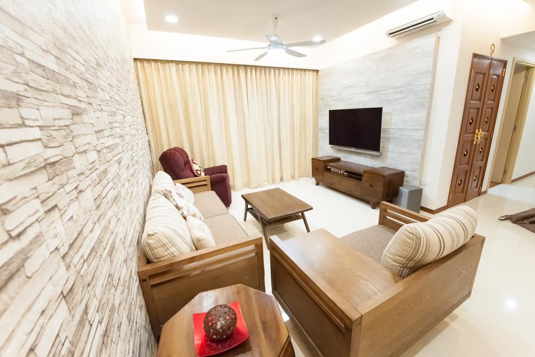 Sea Horizon, GB Interior Design, Contemporary, Living Room, Condo, Couch, Furniture, Asleep, Indoors, Interior Design