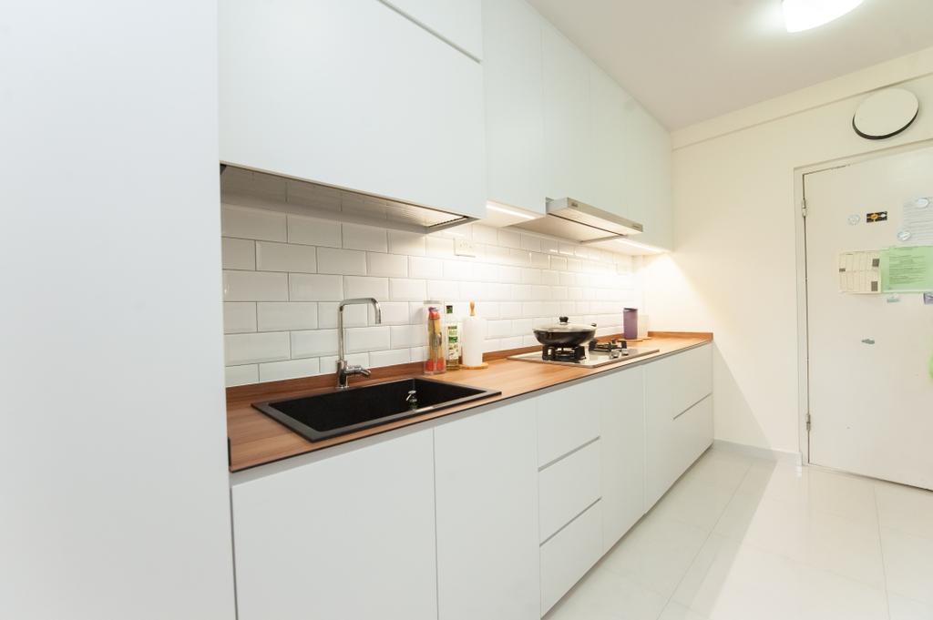 Modern, HDB, Kitchen, Tanglin, Interior Designer, GB Interior Design, Indoors, Interior Design