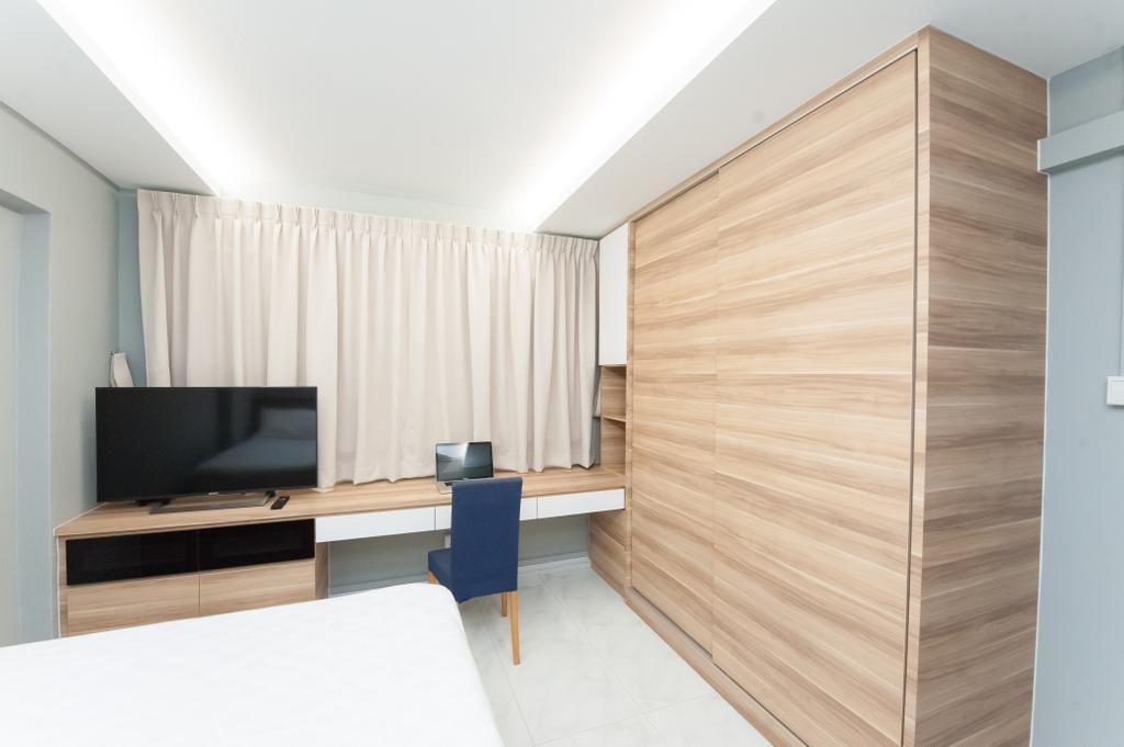 Minimalist, HDB, Bedroom, Pasir Ris, Interior Designer, GB Interior Design