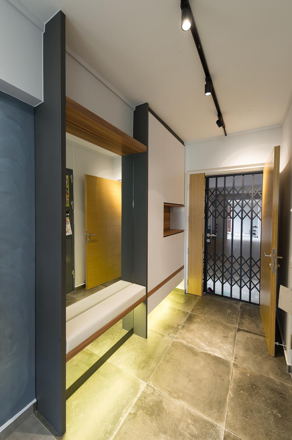 Scandinavian, HDB, Living Room, Hougang Street 92, Interior Designer, ELPIS Interior Design, Industrial