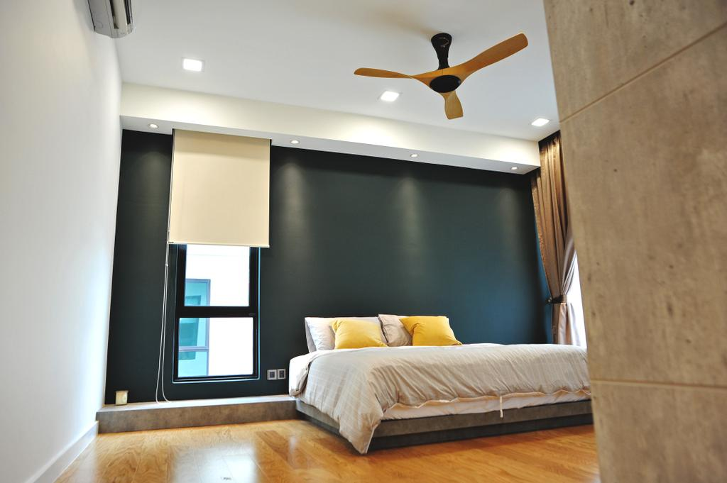 Modern, Landed, Bedroom, Saujana Duta, Seremban 2, Interior Designer, Spazio Design Sdn Bhd, Contemporary, Indoors, Interior Design