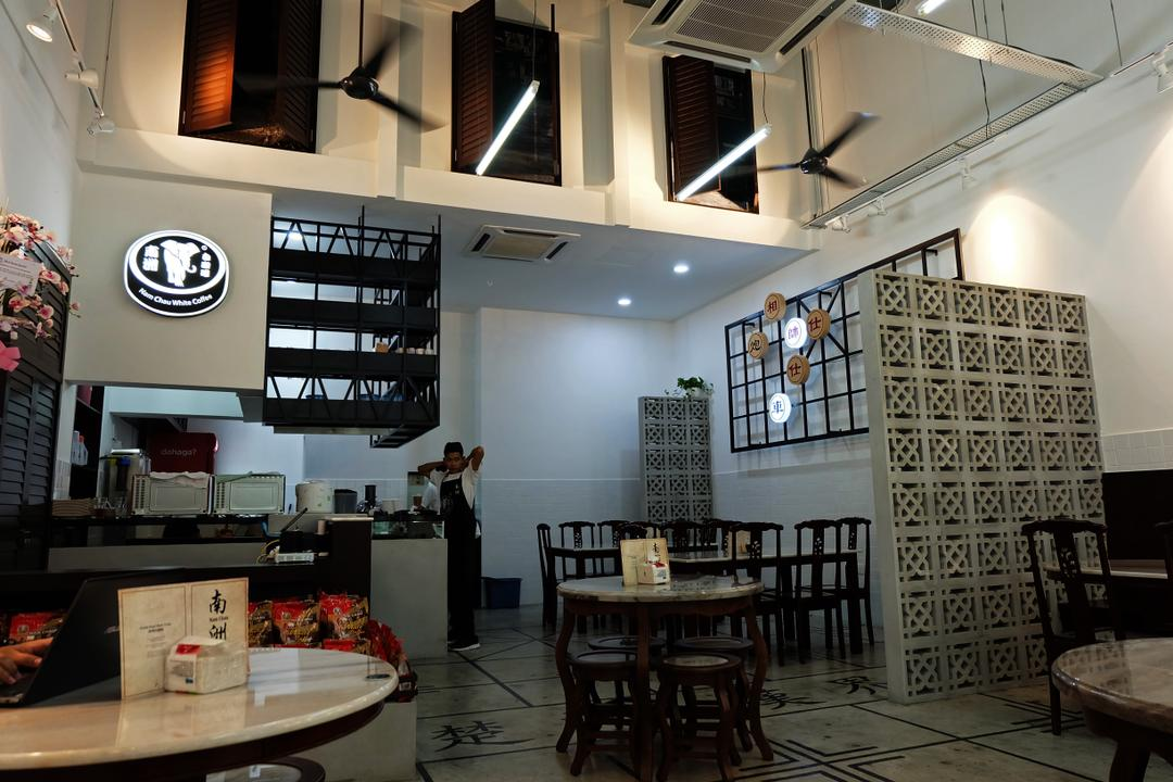 Nam Chau, Nexis Sunway Damansara, Spazio Design Sdn Bhd, Traditional, Commercial, Sink, Cafe, Restaurant, Chair, Furniture, Dining Table, Table