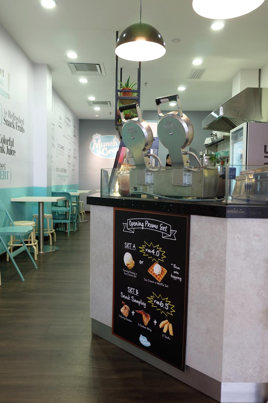 Munch & Crunch, IOI Mall, Commercial, Interior Designer, Spazio Design Sdn Bhd, Transitional, Flora, Jar, Plant, Potted Plant, Pottery, Vase, Chair, Furniture, Cafe, Restaurant