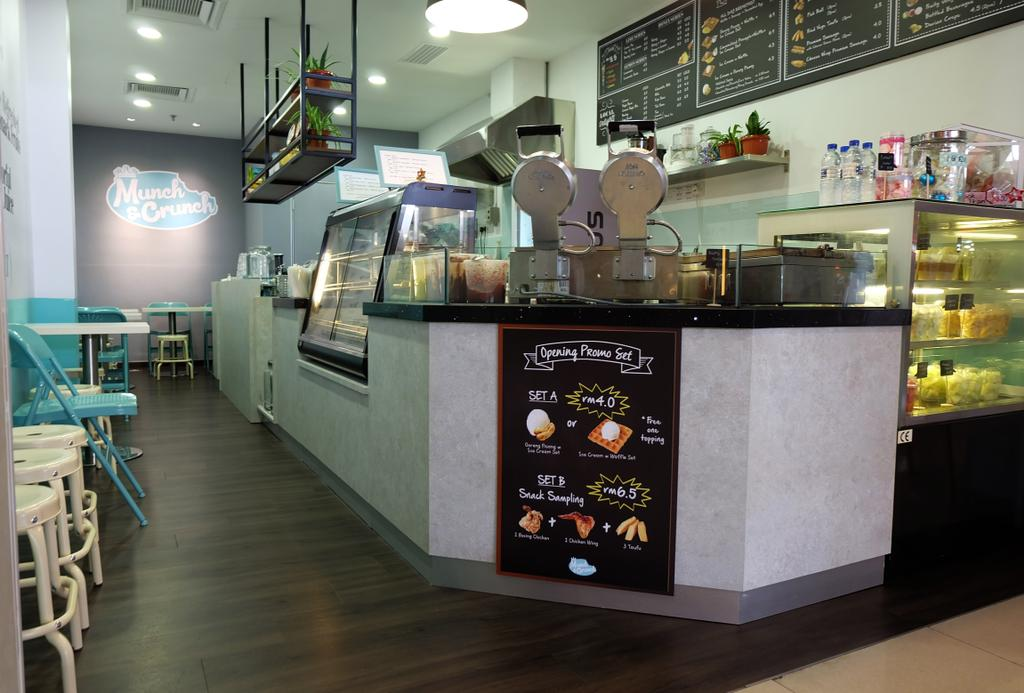 Munch & Crunch, IOI Mall, Commercial, Interior Designer, Spazio Design Sdn Bhd, Transitional, Appliance, Electrical Device, Oven, Bakery, Shop