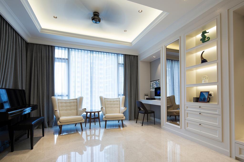 Modern, Condo, Living Room, Kiara 9, Mont Kiara, Interior Designer, Box Design Studio Sdn Bhd