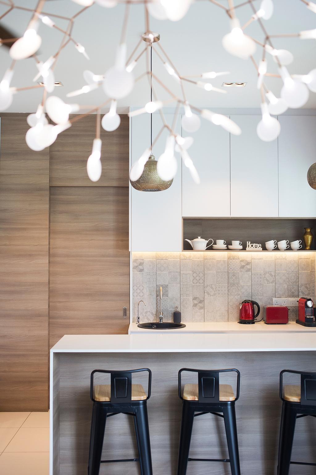 Modern, Condo, The Rise, Rawang, Interior Designer, Box Design Studio Sdn Bhd, Contemporary